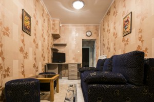 hotel markita room 100 living room